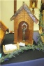 Custom made St. Francis statue outdoor garden Wayside Shrine